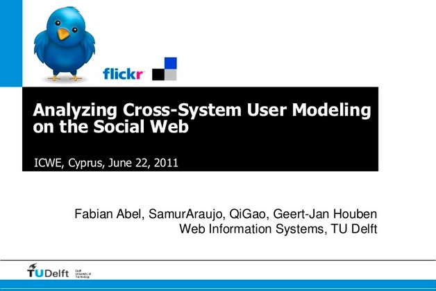 Analyzing Cross-System User Modeling on the Social Web